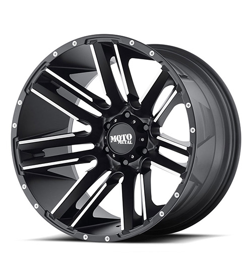 Moto MO978 Milled Black - Product Main