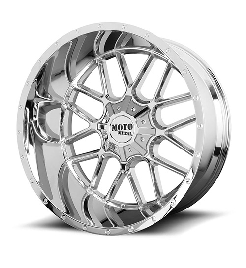 Moto MO986 Chrome - Product Main