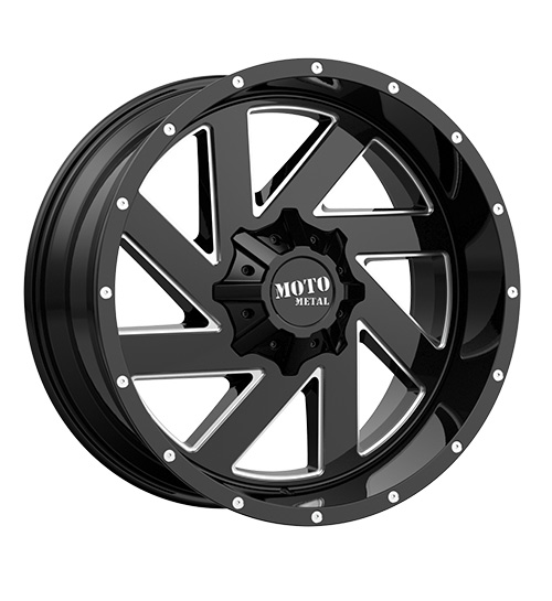Moto MO988 Milled Black - Product Main